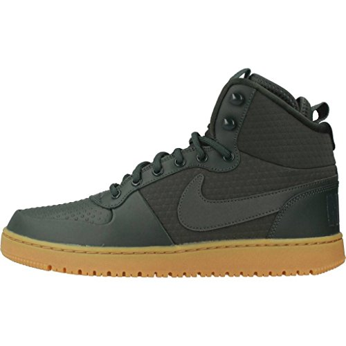 Nike Court Borough Mid Winter, Scarpe da Basket Uomo Grey