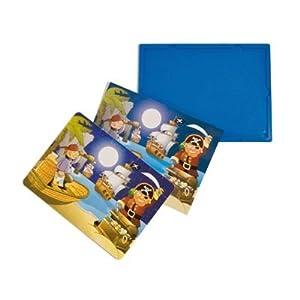 Learn and Play Aprende y Juega 27,5 x 19 cm aventuras suave Puzzle (juego de 3)