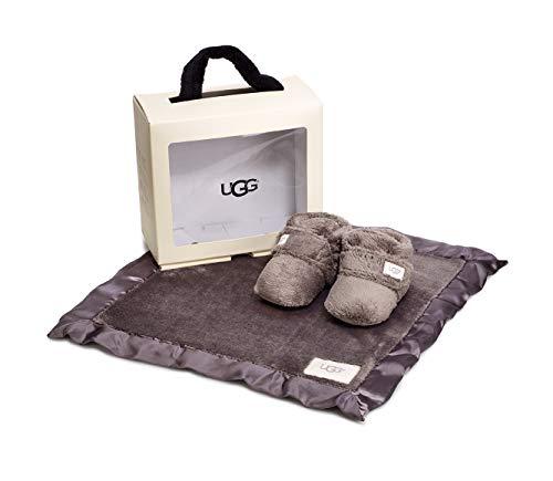 UGG® Bixbee Bootie and Lovey Blanket Kinder Stiefel Grau