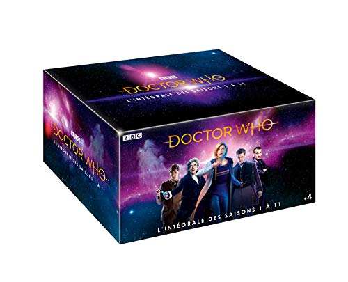 Doctor Who-L'INTEGRALE des Saisons 1 à 11 Inclus épisodes SPÉCIAUX + Le DVD 50ème Anniversaire + 3h35 de Bonus