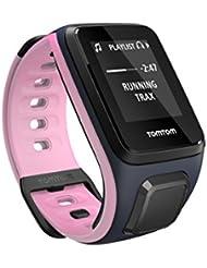 TomTom Spark Cardio + Musik GPS-Fitnessuhr Pink / Blau, Größe S