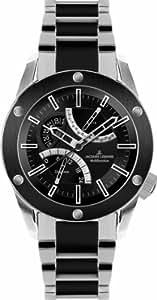 Jacques Lemans Sports Herren-Armbanduhr XL Liverpool GMT Analog Keramik 1-1634F