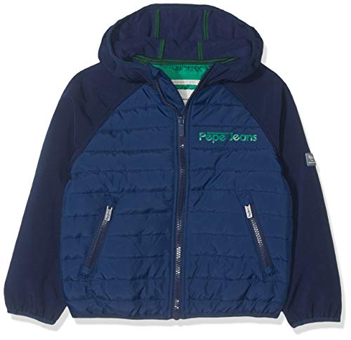 Pepe Jeans Surrey Pb400871 Chaqueta, Sailor 580, 4-5 años Talla del Fabricante: 104/4...
