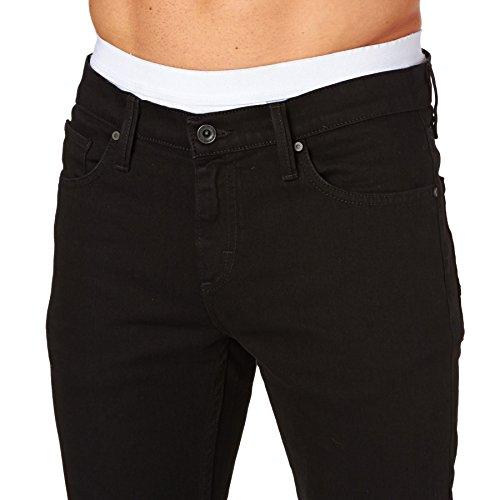 Vans Herren Jeans M V76 Skinny Black