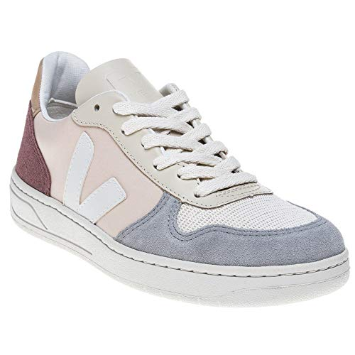 Veja - Baskets V10 Leather Couleur - MULTICO NUDE, Taille - 39