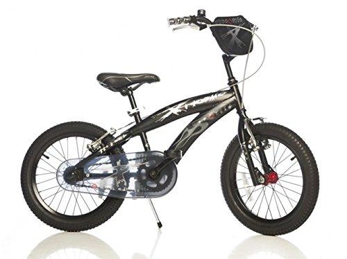 "Bici Dino 16"" 165 XS-EXTREME per Bambino 6-8 anni freni V-brake"