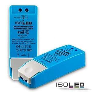 ISOLED LEDTrafo 11.5V/AC 0-105VA dimmbar, Plastik, 105 W, blau, 11.3 x 4.4 x 2.8 cm
