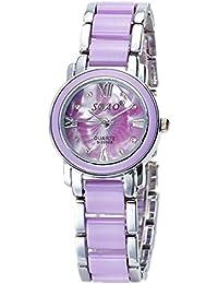 Reloj de cerámica de cuarzo de las señoras de moda , 2