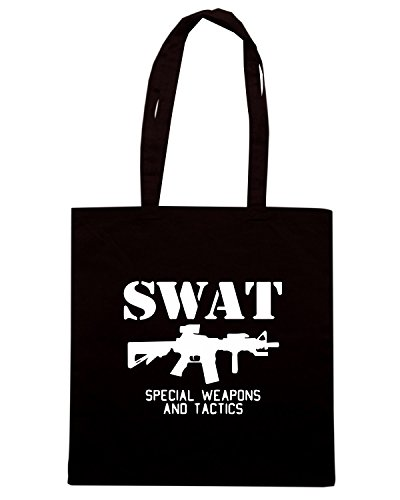 T-Shirtshock - Borsa Shopping TM0537 swat Nero