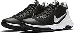 Nike Air Versatile Black/Metallic Silver/Dark Grey/Pure Platinum Womens Basketball Shoes