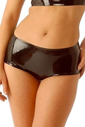 Honour - Shorty : Mini short latex HotPants - Shorty en Latex Honour - Medium