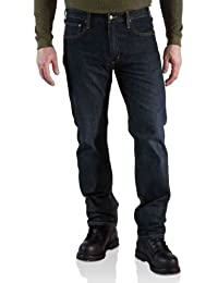 Carhartt Jeans 5 pocket straight cut rough Denim 100067