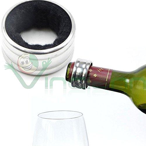 Ring Halsband Anti festen Tropfen Tropfen Tropf Hals FLASCHE WEIN Champagner