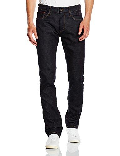 Tommy Jeans Hilfiger Denim Herren Straight Jeanshose ORIGINAL STRAIGHT RYAN RINSC, Dunkelb Preisvergleich