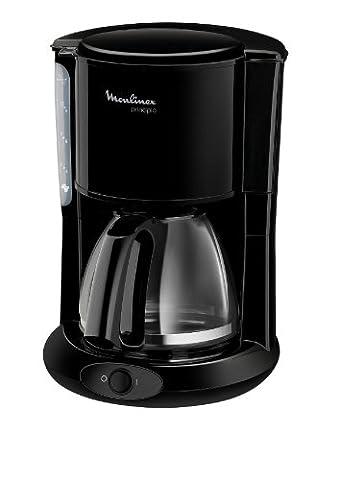 Moulinex FG2608 Glas-Kaffeemaschine, schwarz