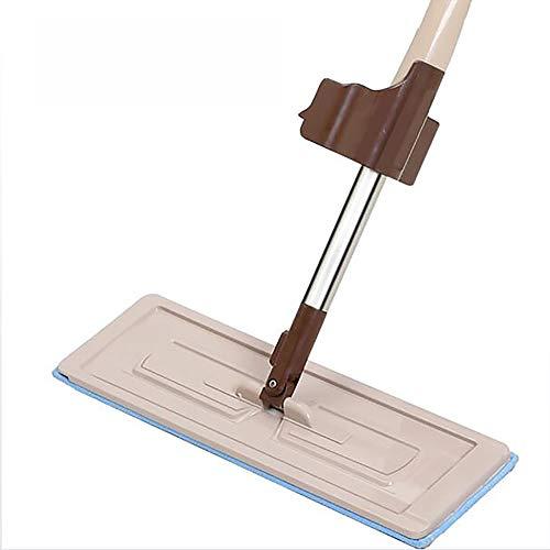 ZUZEN Multi-Function-Mop Tile Hardwood Floor Cleaner Microfiber Mop Edelstahlrohr-Körper geeignet für das Home Office -