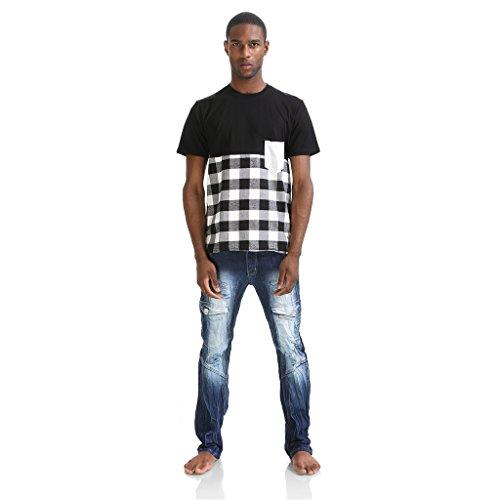 PIZOFF Damen T-Shirt Gr. L, P3240-black