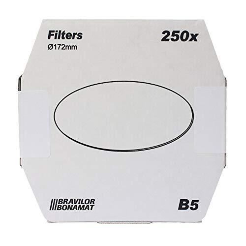 Bonamat Bravilor B5 Flachfilter Original 172 mm, 250 Stk, Kaffeefilter