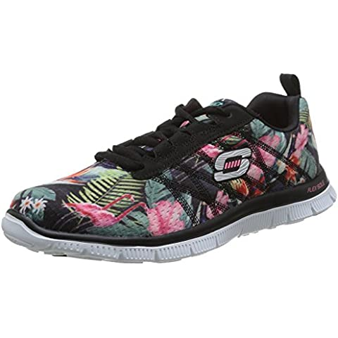 Skechers Flex Appeal-Floral Bloom - Zapatos para mujer