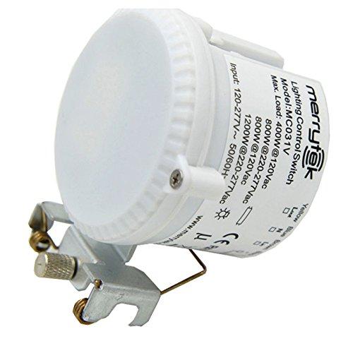 P16 MC031VA Mikrowellen-Bewegungssensor ON OFF Dimmfunktion 120-277V 800W/1.200W - 277v Lampen