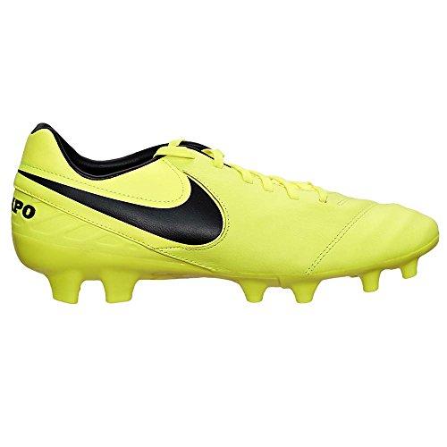Nike Herren Tiempo Mystic V FG Fußballschuhe gelb - schwarz