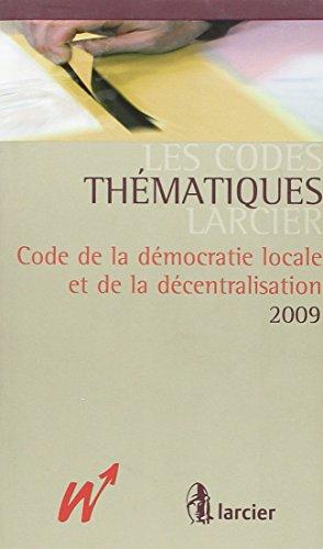 Code de la Démocratie locale et de la Décentralisation (SM)