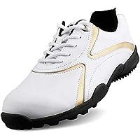 HJJGRASS Zapatos de Golf para Hombre PGM Antideslizantes Impermeables y Transpirables Zapatos de espigas Cómodo Calzado Deportivo Zapatillas Deportivas,42
