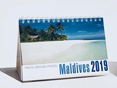 Calendario da tavolo Calendario/2017con motivo Maldive