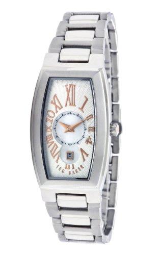 Ted Baker TE4016 - Reloj analógico de mujer de cuarzo con correa plateada