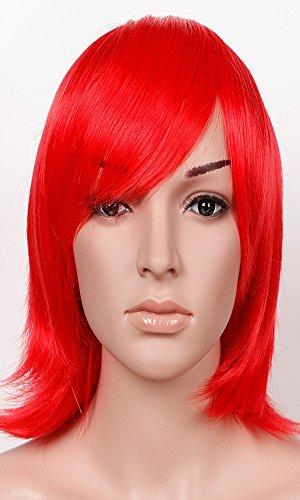 S-NOILITE Cosplay Short Rot Full Perücken Anime/Kostüm Party Kleid für Männer Frauen