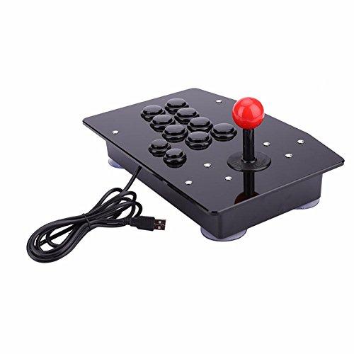 YHLVE 1PCS Gasky Arcade Joystick 10 Botones PC Controller