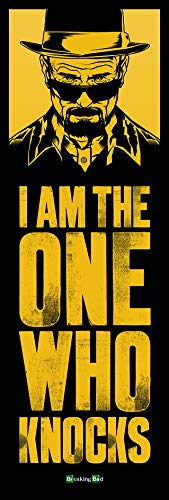 Pyramid Puerta - Poster con diseño Breaking Bad I Am The One Who Knocks Door, 53 x 158 cm