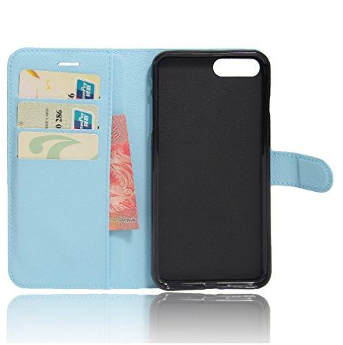 Coque iPhone 7 Plus,Manyip Téléphone Coque - PU Cuir rabat Wallet Housse [Porte-cartes] multi-Usage Case Coque pour iPhone 7 Plus,Classique Mode affaires Style E