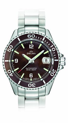 Delma Herrenuhr 407007-Armbanduhr Damen, Armband aus Metall Farbe Silber