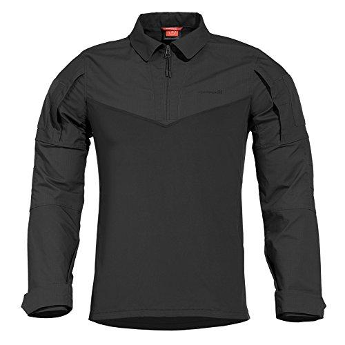 Pentagon Herren Ranger Tac-Fresh Hemd Schwarz Größe M