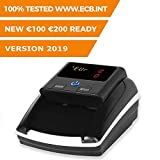 Monepass D8 - Détecteur de faux billets avec 8 systèmes de détection et une fiabilité de 100% (tests BCE)