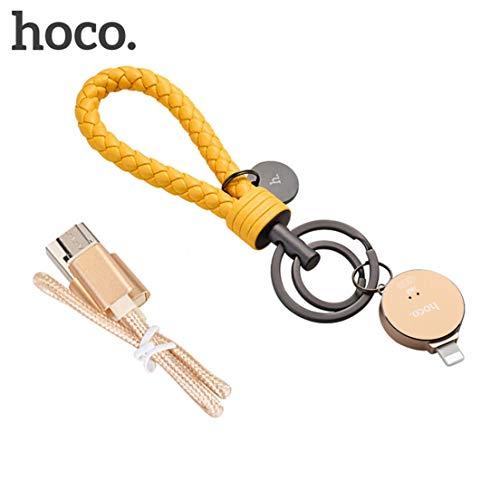 HOCO UD1 Mini Size Aluminiumlegierung USB Flash Drive Unterstützung Verschlüsselung USB Stick Flash Pen Drive Geeignet für IOS 8.0 - Gelb