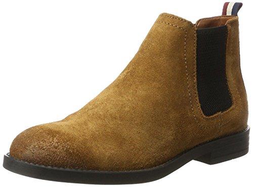 Hilfiger Denim Damen G1385ETTY 1B Chelsea Boots, Braun (Winter Cognac), 42 EU (Ankle Co-leder Boot)