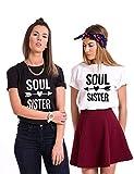 Couple Camp Best Friend T-Shirt mit Aufdruck Beste Freunde T-Shirt Für 2 BFF Geschenke