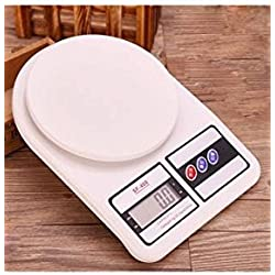 Skycandle Electronic Kitchen Weighing Scale (Capacity: 10 Kg) , White