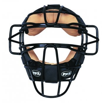 Louisville Slugger Tpx Baseball Face Protection Mask Leather Pad Covering Helmet Test