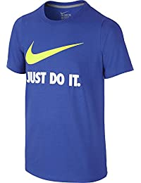 Nike JDI Swoosh tee YTH - Camiseta para niños