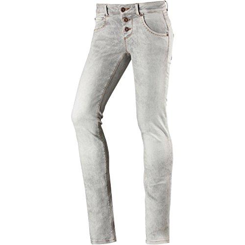 M.O.D Damen Skinny Fit Jeans grau 29 / 32