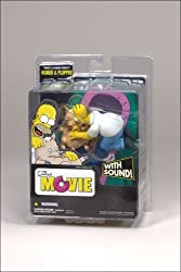 The Simpsons: Homer Simpson & Plopper Movie Figure