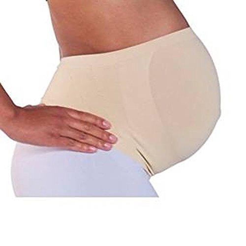 RNB - Faja de vientre para embarazada, 100% mayor comodidad beige NUDE L Large
