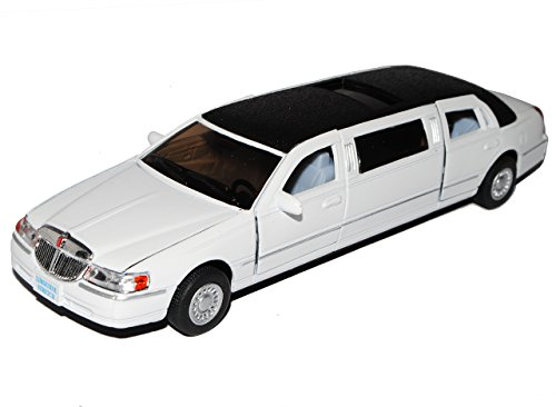 Lincoln Town Car Stretch Limousine Weiss ca 1/43 1/36-1/46 Modellcarsonline Modell Auto