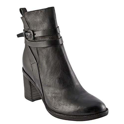 Exclusif Paris  Exclusif Paris Leora, Chaussures femme Bottines femme,  Damen Stiefel & Stiefeletten Schwarz - Schwarz