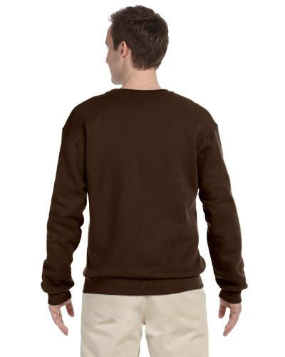 Hockey Symbol auf American Apparel Fine Jersey Shirt Marron - Classic Brown