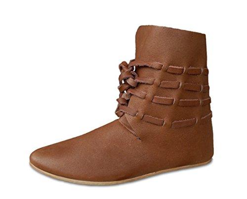 CP-Schuhe Hochmittelalter Halbstiefel Mittelalter Schuhe Stiefel LARP (40)