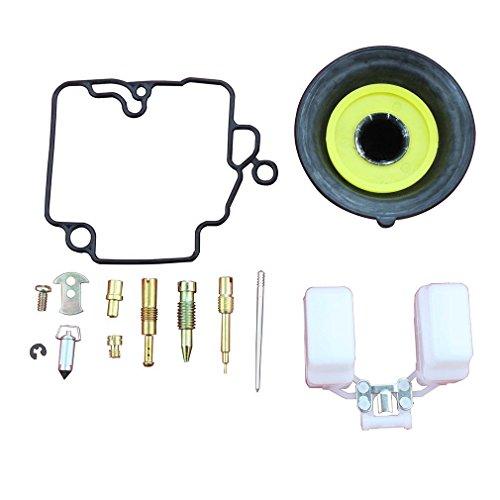 GOOFIT 18mm Vergaser Reparatursatz für GY6 50cc ATV, Go Kart & Roller